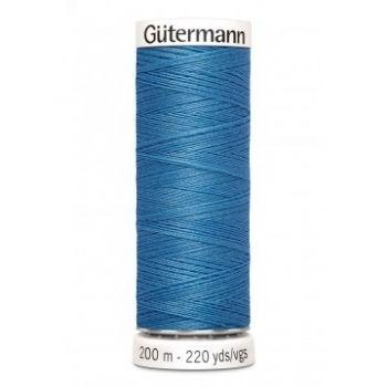 Gütermann 200 meter naaigaren - midden blauw