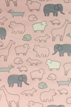 Animals - Soft Pink