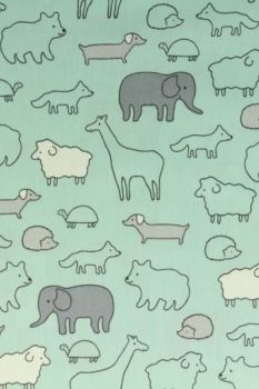 Animals - Soft Blue