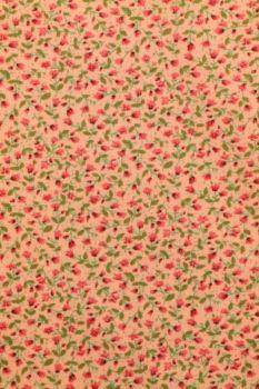 bloemen veld katoen warm roze