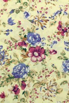 zee van bloemen vanille paars