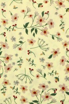 voorjaar bloemen in vanille