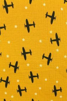 Planes in the Sky on Ocher