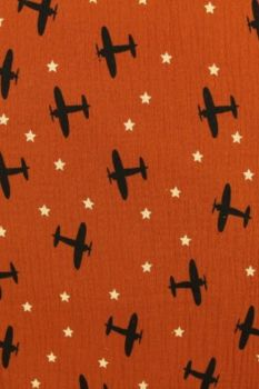 Planes in the Sky on Rusty