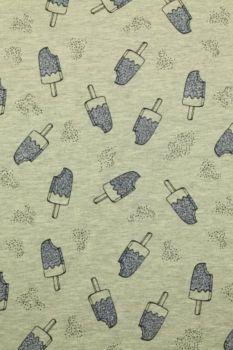 katoenen tricot met ijsjes
