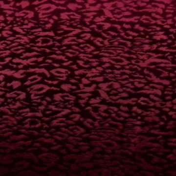 Leopard - Dark Red