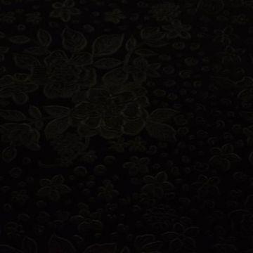 Roses & Little Flowers - Black