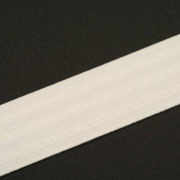 Taille Elastiek Wit - 25mm