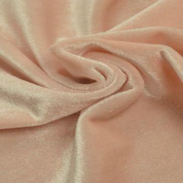 lycra fluweel / velours oud roze