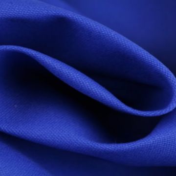 Canvas kobalt blauw
