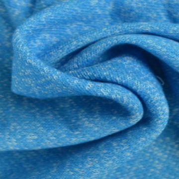 Gemeleerde Jogging Sweaterstof - aqua