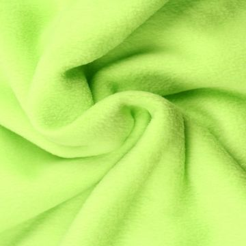 Lime Groene Anti Pilling Fleece