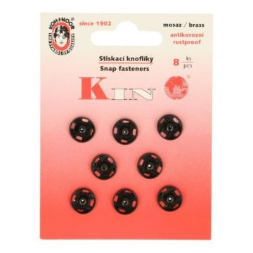 manteldrukkers zwart 10mm