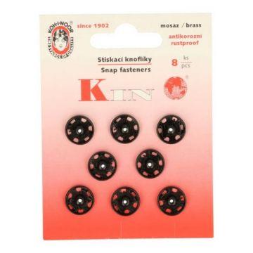 manteldrukkers zwart 11,5mm