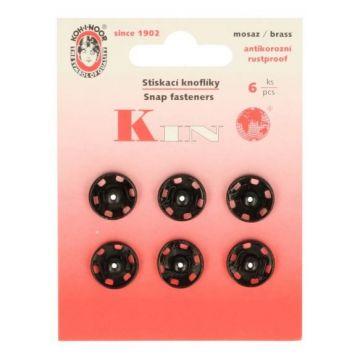manteldrukkers zwart13 mm