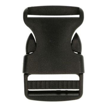 Kliksluiting 20 mm - Zwart