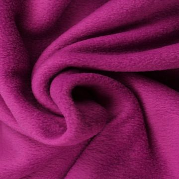 Cassis Paarse Anti Pilling Fleece