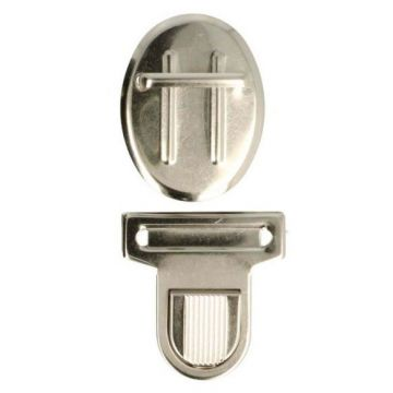 Schuif Tassluitingen Groot - Zilver