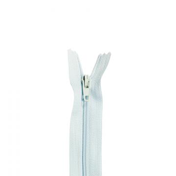 Nylon Rits - Niet Deelbaar - 60cm -12 - Light Blue