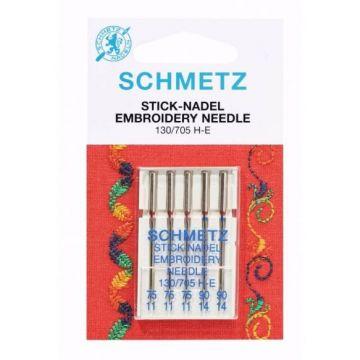 Schmetz Embroidery 75-90