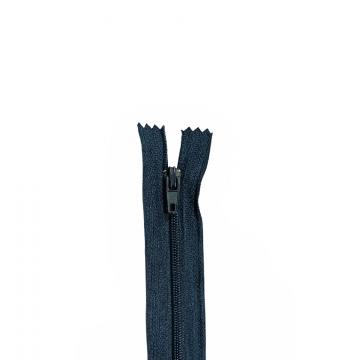 Nylon Rits - Niet Deelbaar - 60cm -15 - Navy