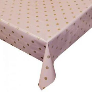 Tafelzeil - Pink/Rosé Dots