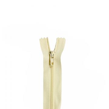Nylon Rits - Niet Deelbaar - 60cm -16 - Creme