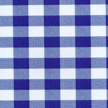 Tafelzeil Checkerd - Blue