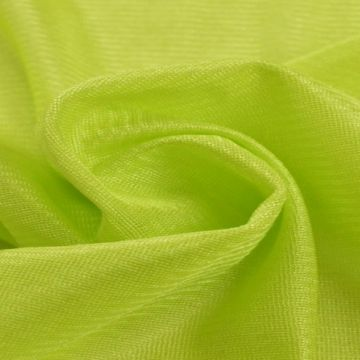Charmeuse Tricot Voering Lime