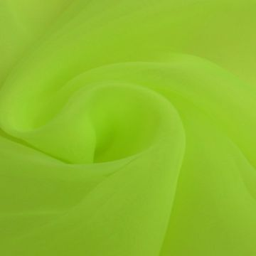 Organza neon groen