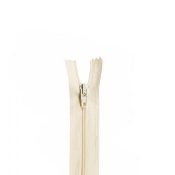 Nylon Rits - Niet Deelbaar - 60cm -17 - Ecru