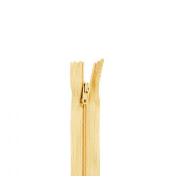 Nylon Rits - Niet Deelbaar - 60cm -18 - Latte