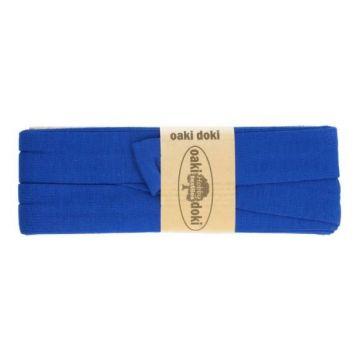 tricot de luxe biaisband oaki doki kobalt
