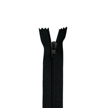 Nylon Rits - Niet Deelbaar - 60cm -1 - Black