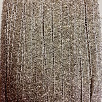 zilver band met glitters