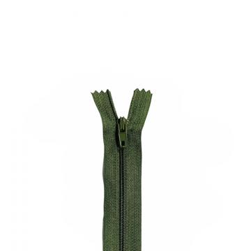 Nylon Rits - Niet Deelbaar - 60cm -20 - Army Green