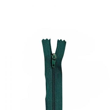 Nylon Rits - Niet Deelbaar - 60cm -21 - Dark Green
