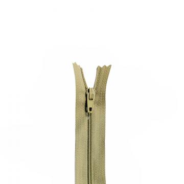 Nylon Rits - Niet Deelbaar - 60cm -22 - Taupe/Clay