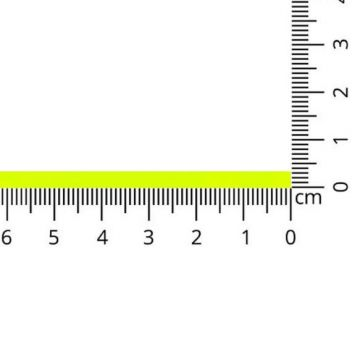 Luxe Satijn Lint 3 mm-01 - Neon Yellow