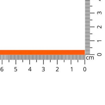 Luxe Satijn Lint 3 mm-997 - Neon Orange