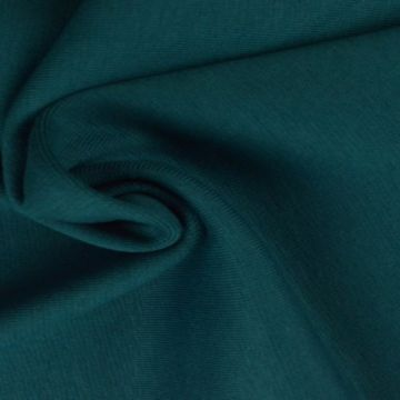 donker turquoise boordstof
