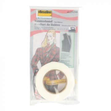 Vlieseline - Kantenband - 20mm Wit