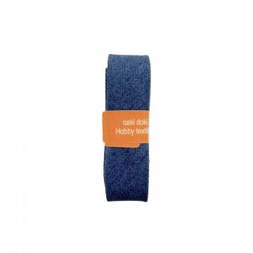 Oaki Doki Biaisband Jeans - Blue - 2m