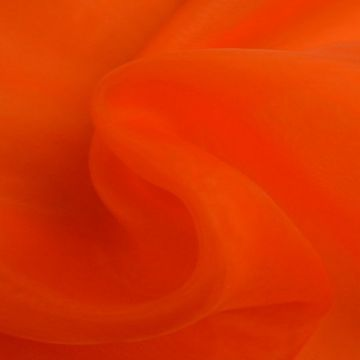 Organza donker oranje