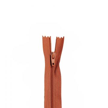 Nylon Rits - Niet Deelbaar - 60cm -24 - Misty Rusty