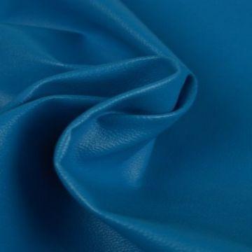 Kunstleer petrol blauw