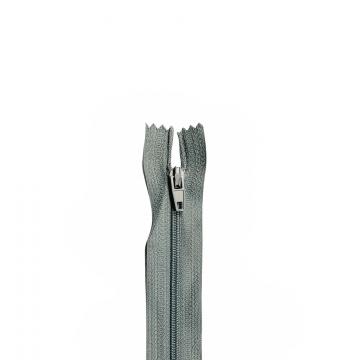 Nylon Rits - Niet Deelbaar - 60cm -28 - Grey