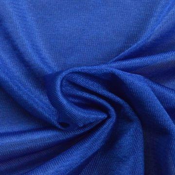 Charmeuse Tricot Voering Kobalt Blauw