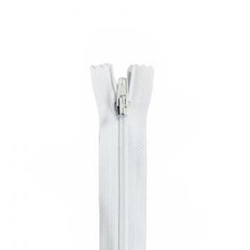 Nylon Rits - Niet Deelbaar - 60cm -2 - White