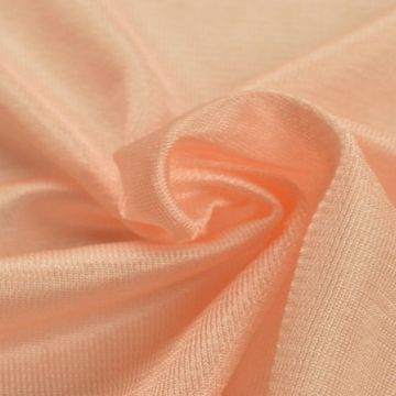 Charmeuse Tricot Voering Zalm Roze